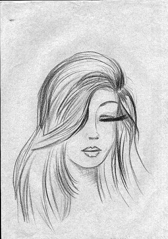 картинки для срисовки девушек